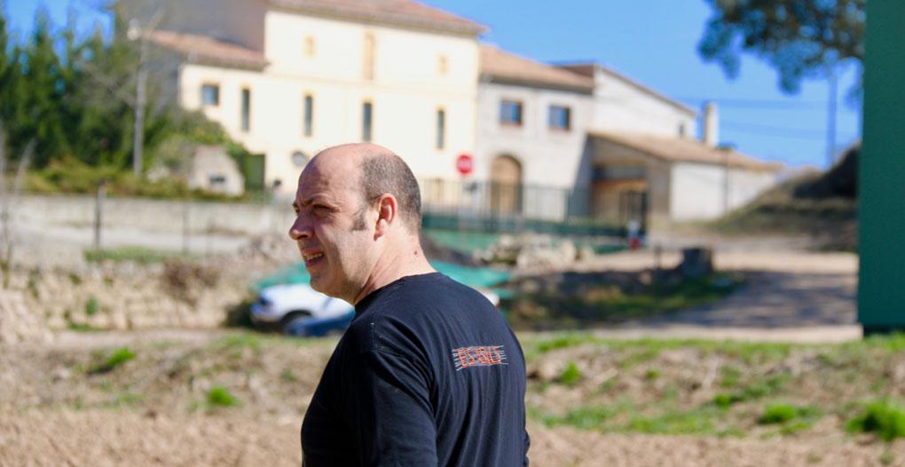Oriol Rovira, payés y cocinero de Els Casals.