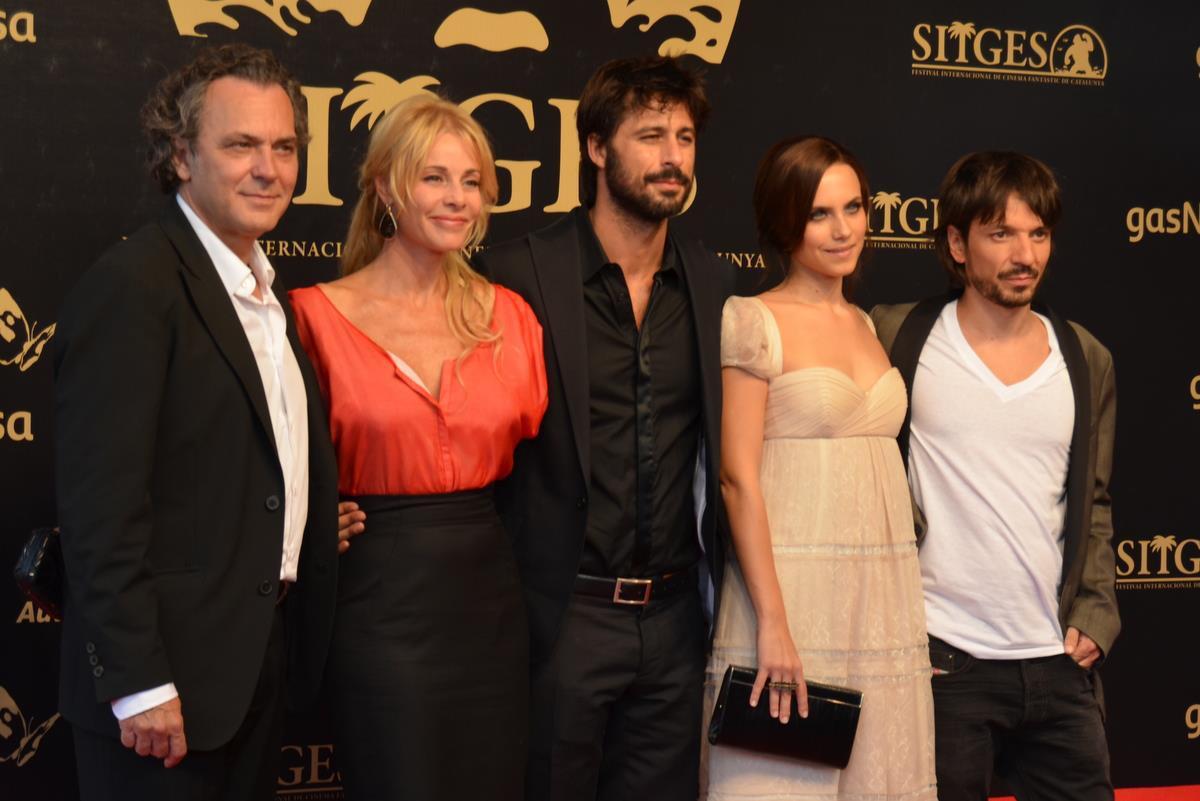 En Sitges, la actriz presentando El Cuerpo, en 2012. Foto: Facebook