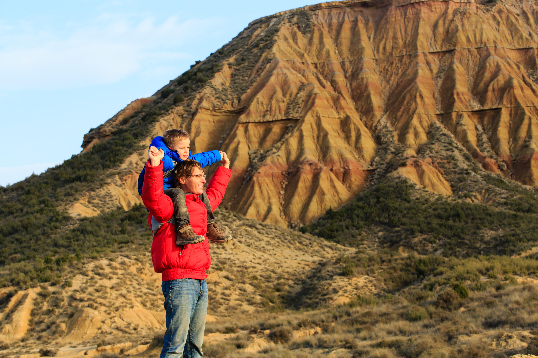 40.000 hectáreas forman este desierto de piedras, barrancos y cortados de 300 metros.