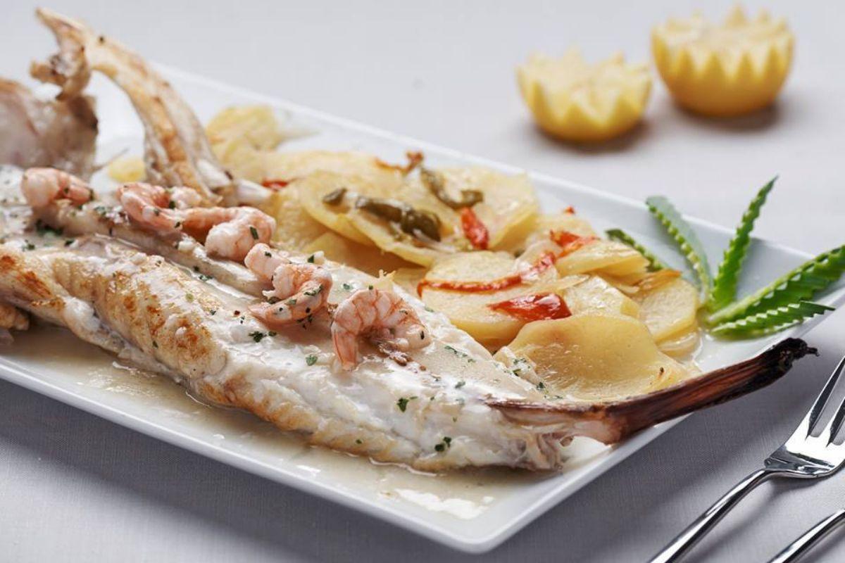 Un plato del restaurante A Barrola. Foto: Facebook