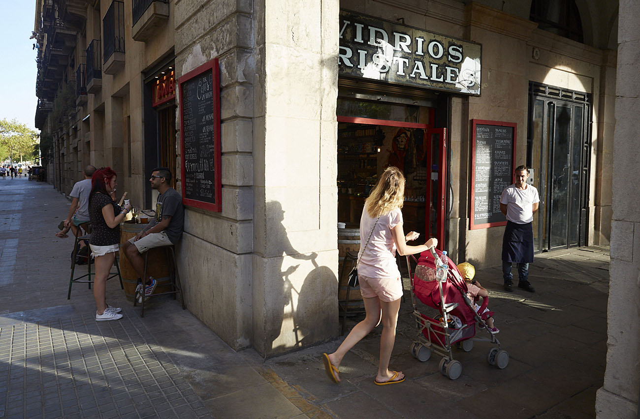 Restaurante Vidrios y Cristales (Barcelona) - exterior. Foto: Xavier Torres-Bacchetta