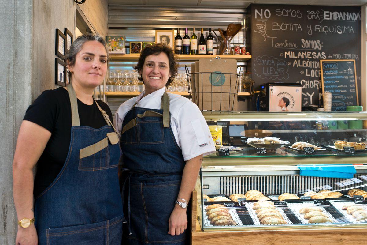 Las hermanas propietarias de Graciana. Foto: Sofía Moro
