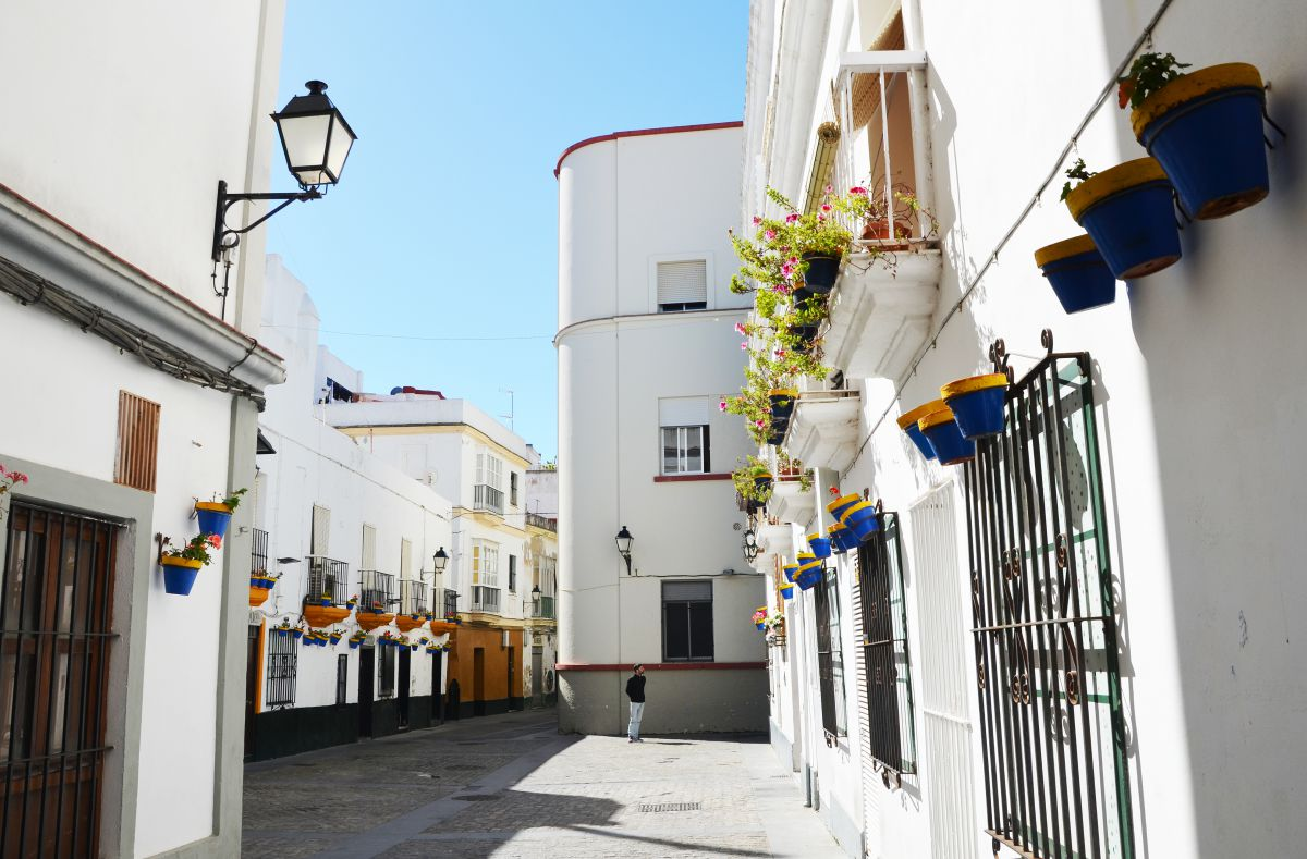 Plaza del Tío de la Tiza. Foto: David Ibáñez / Patronato de Turismo de Cádiz