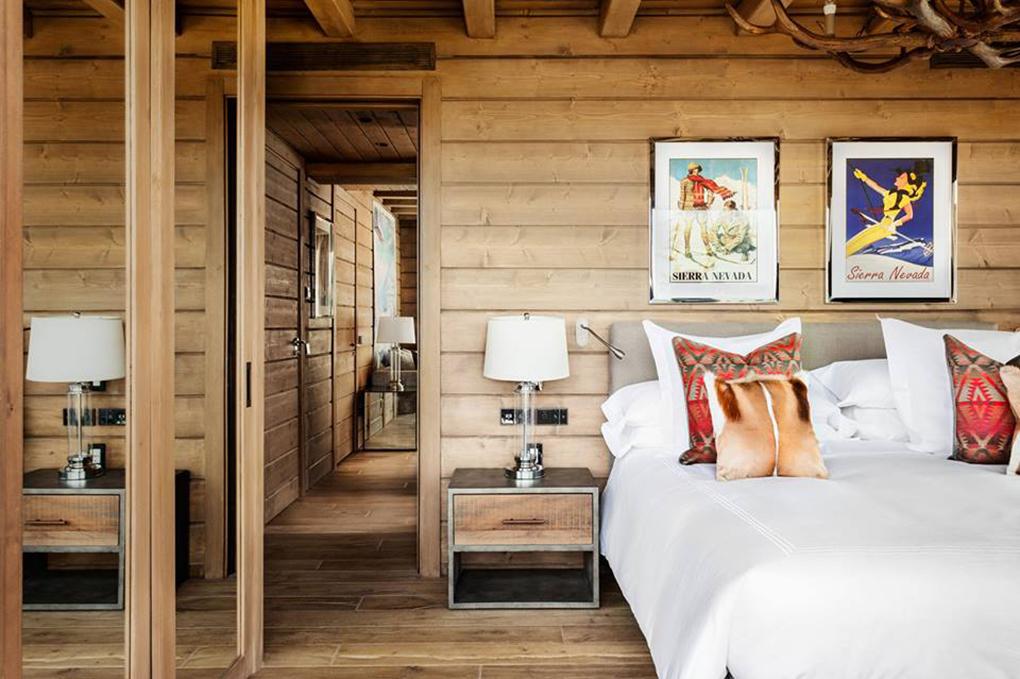 Habitación del Hotel Le Lodge, Sierra Nevada