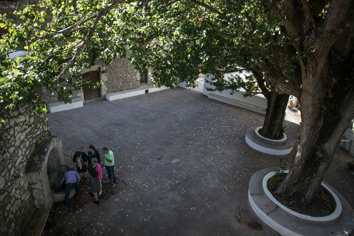 Casa de Banys l'Avellà. Foto: Eva Máñez