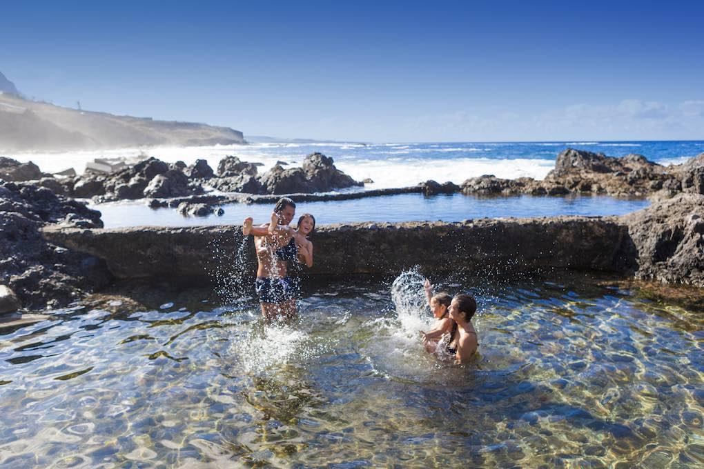 El Caletón, piscina natural