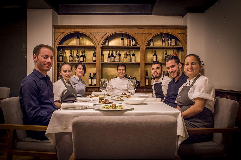 Manso - Alberto Lareo y su equipo. Foto cedida