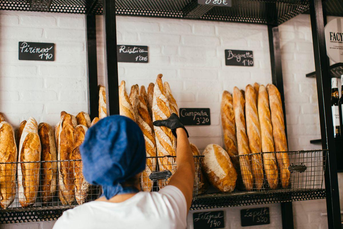 En la panadería. Foto: Rocío Eslava