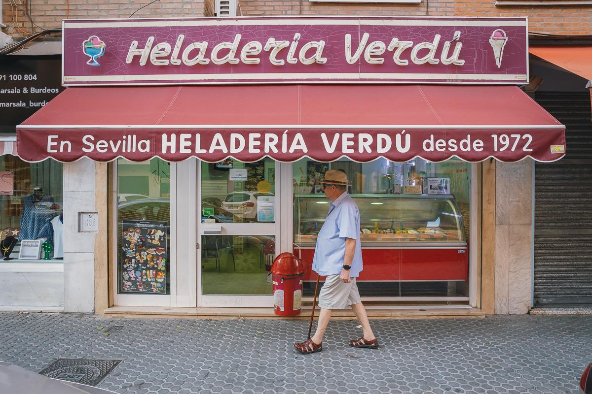 Heladerías de Sevilla: Verdú (2). Foto: Javier Sierra