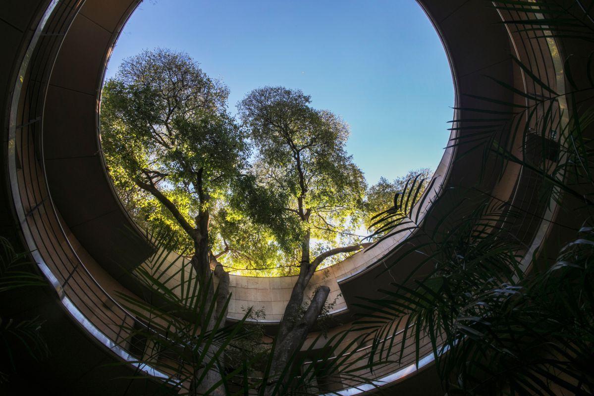 Paseando por el botánico. Foto: Eva Máñez