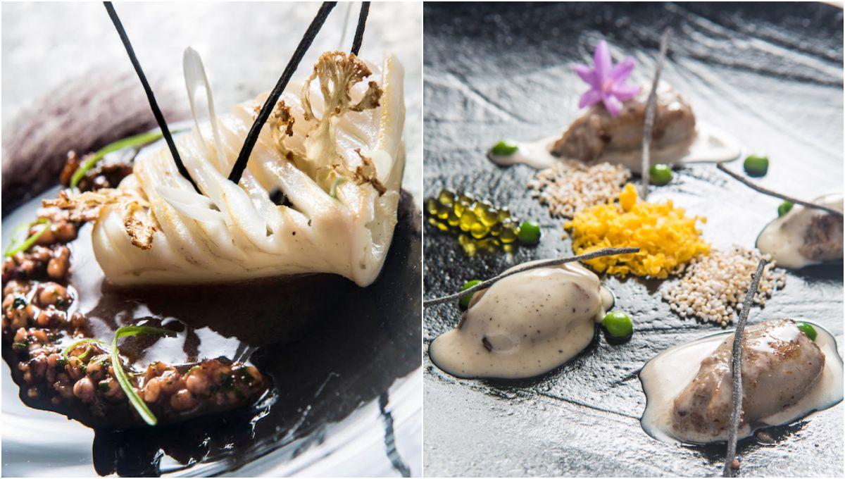 Platos del restaurante 'Andreu Genestra'. Fotos: Arthur Leblanc