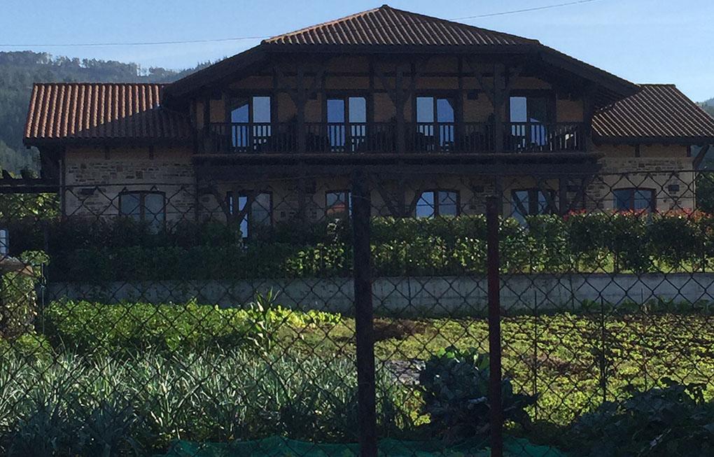 Hotel rural Salaritz, en Amurrio.