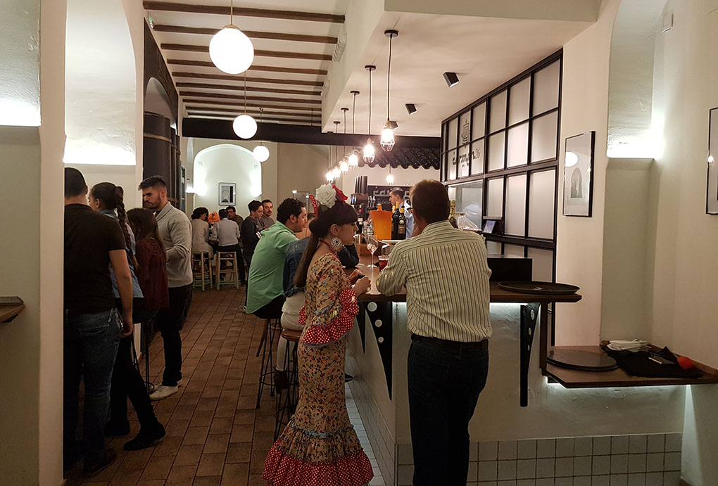 Interior del restaurante Carmen 26