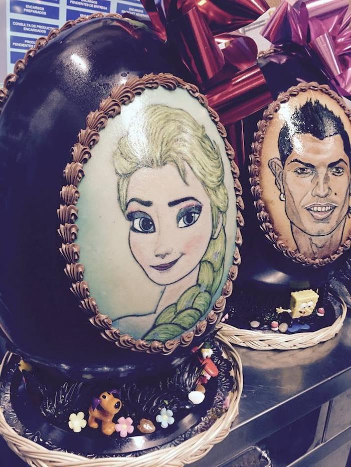 Huevos de Pascua para fansde Confitería Gil. Foto: Facebook