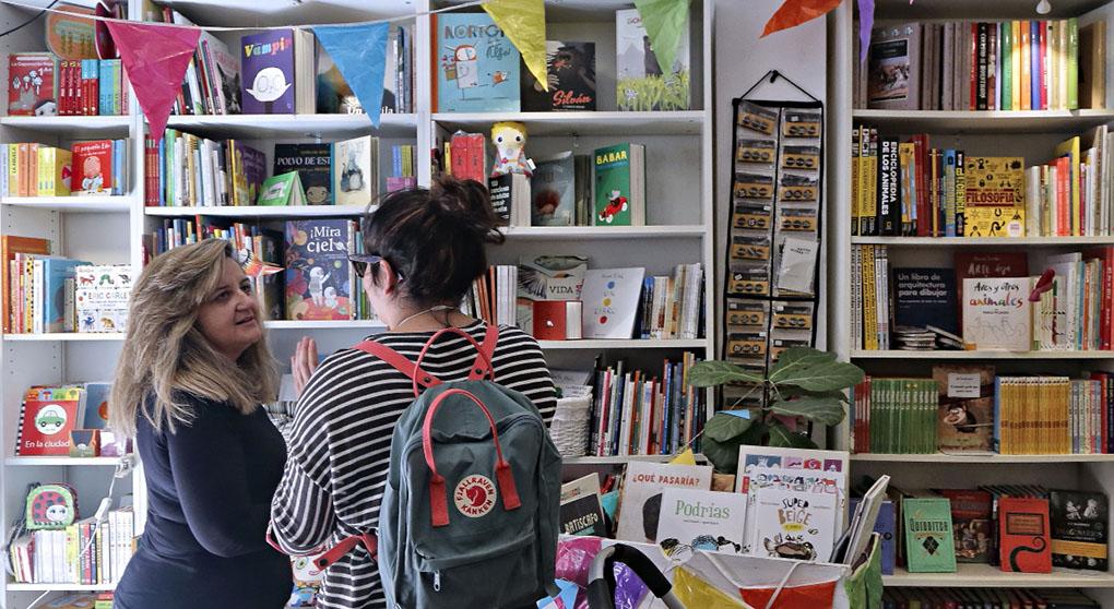 Librerías de Madrid: Interior de Atticus Finch. Foto: Roberto Ranero