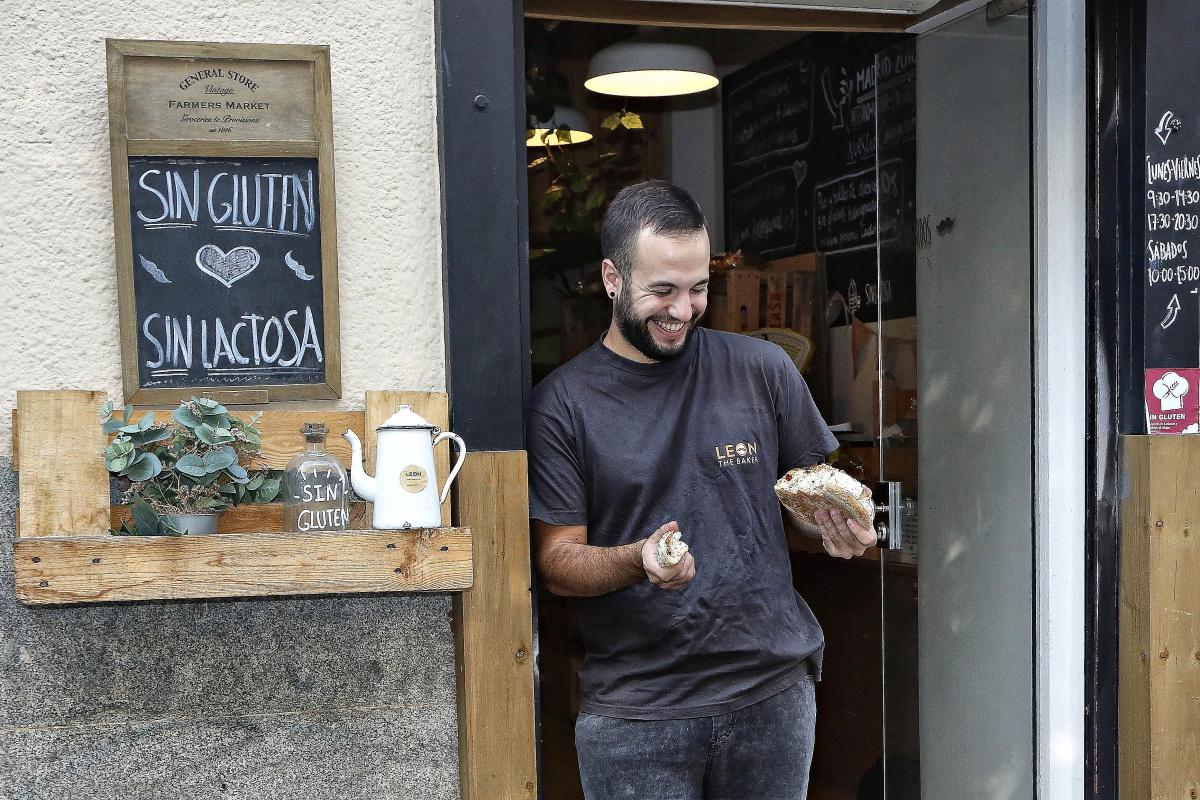 Panaderías celíacos, Madrid