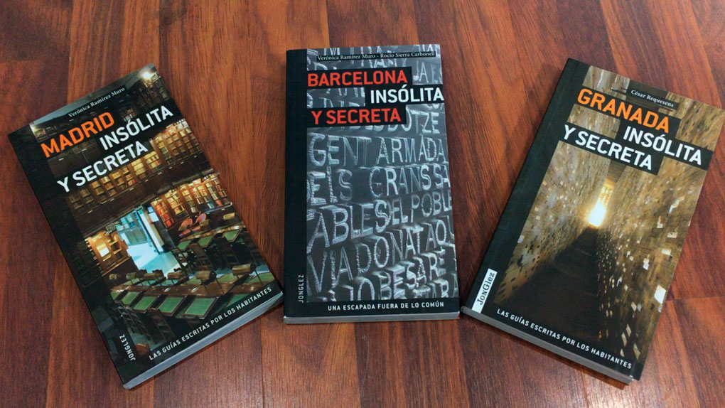 Colección Insólita y Secreta (Barcelona, Granada o Madrid)