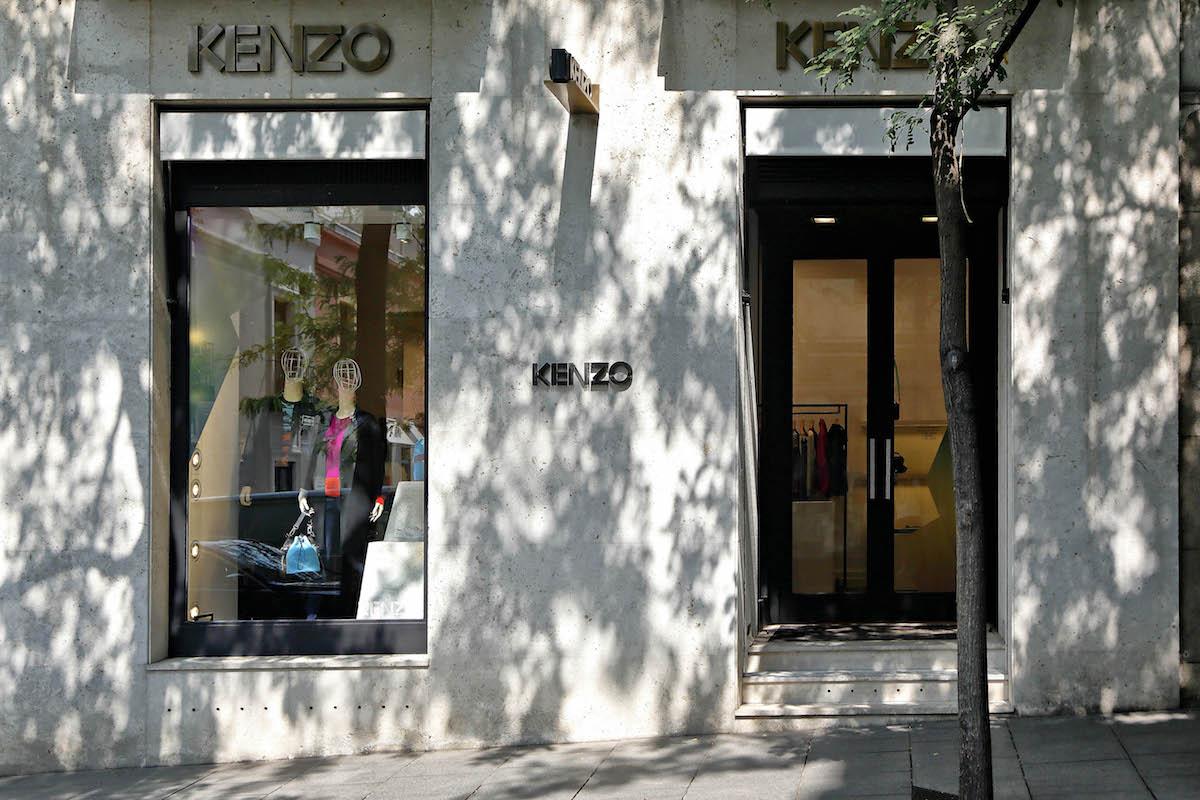 La boutique de Kenzo en el barrio de Salamanca. Foto: Roberto Ranero