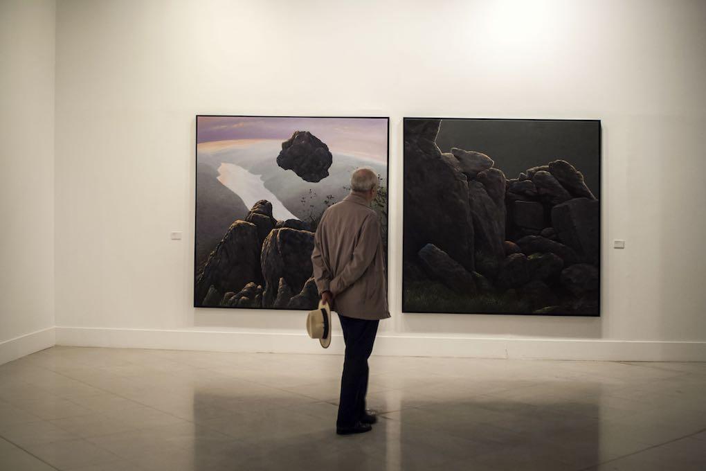 Interior del Museo Extremeño e Iberoamericano de Arte Contemporáneo. Foto: Manuel Ruiz Toribio