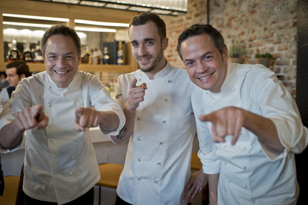 Jefe De Cocina Madrid | Restaurante Dos Cielos Hermanos Torres Madrid Guia Repsol