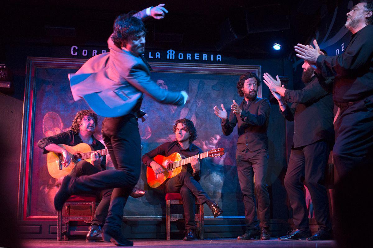 Jesús Carmona en plena acción. Foto: Sofía Moro