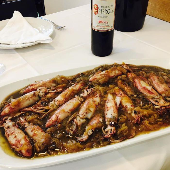 Maganos de guadañeta. Restaurante Somo. Foto: Facebook
