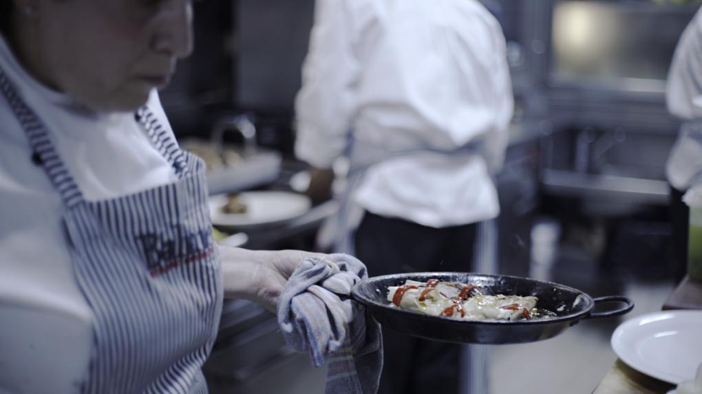 La cocina del restaurante Balmes