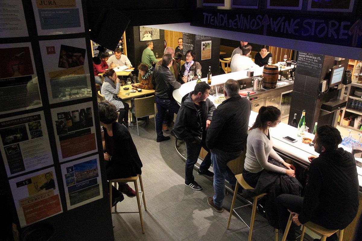 Restaurante Donosti - Essencia Wine (sala 3). Foto: Bixigarri