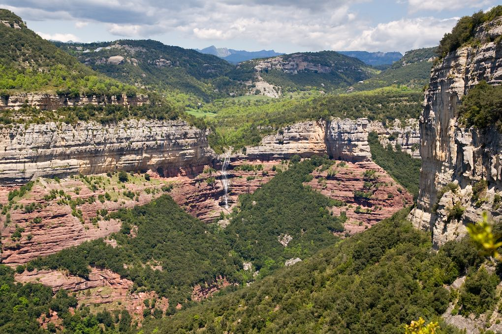 Acantilados de Tavertet. Foto: Shutterstock