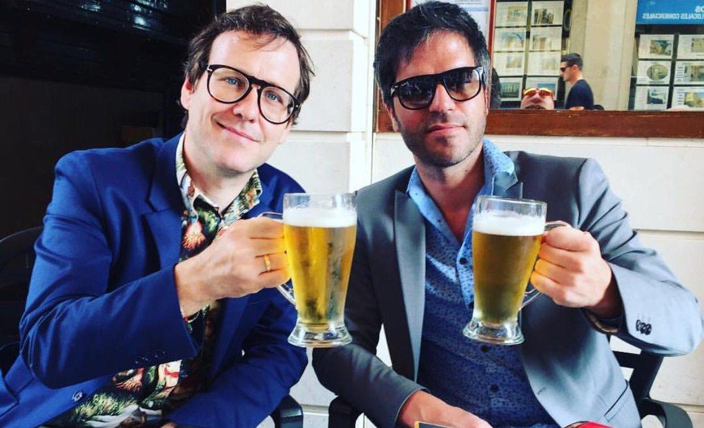 Joaquín Reyes y Ernesto Sevilla. Foto: cedida