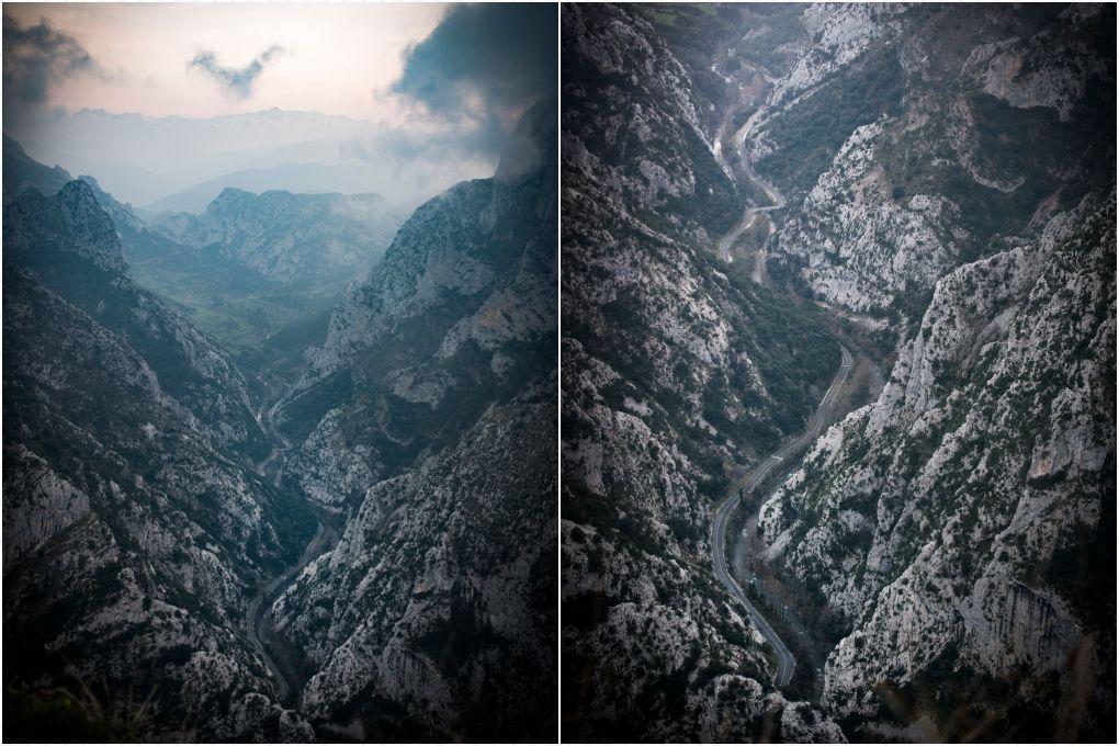 Vistas desde el Mirador de Santa Catalina