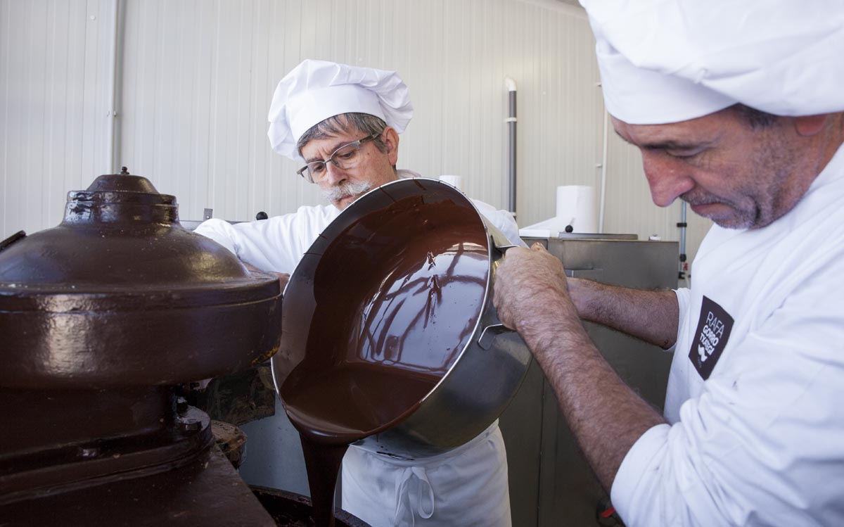 Chocolate para hacer turrones