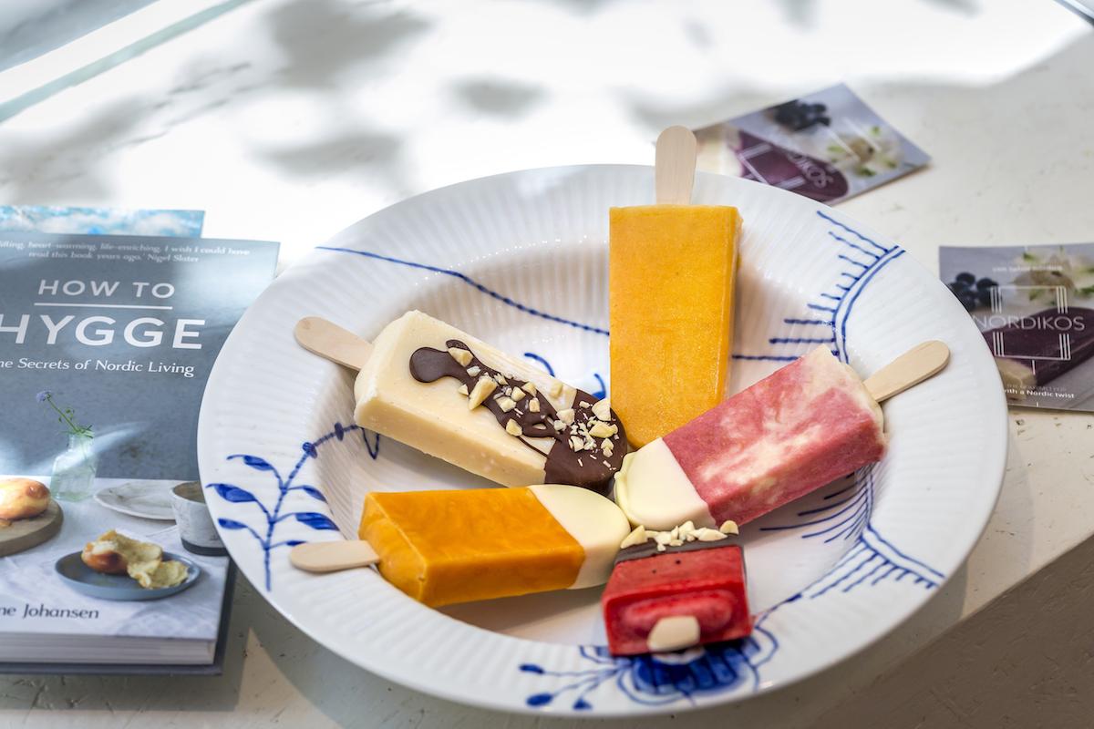 Diferentes sabores de polos de Nordikos. Foto: Javier Sierra