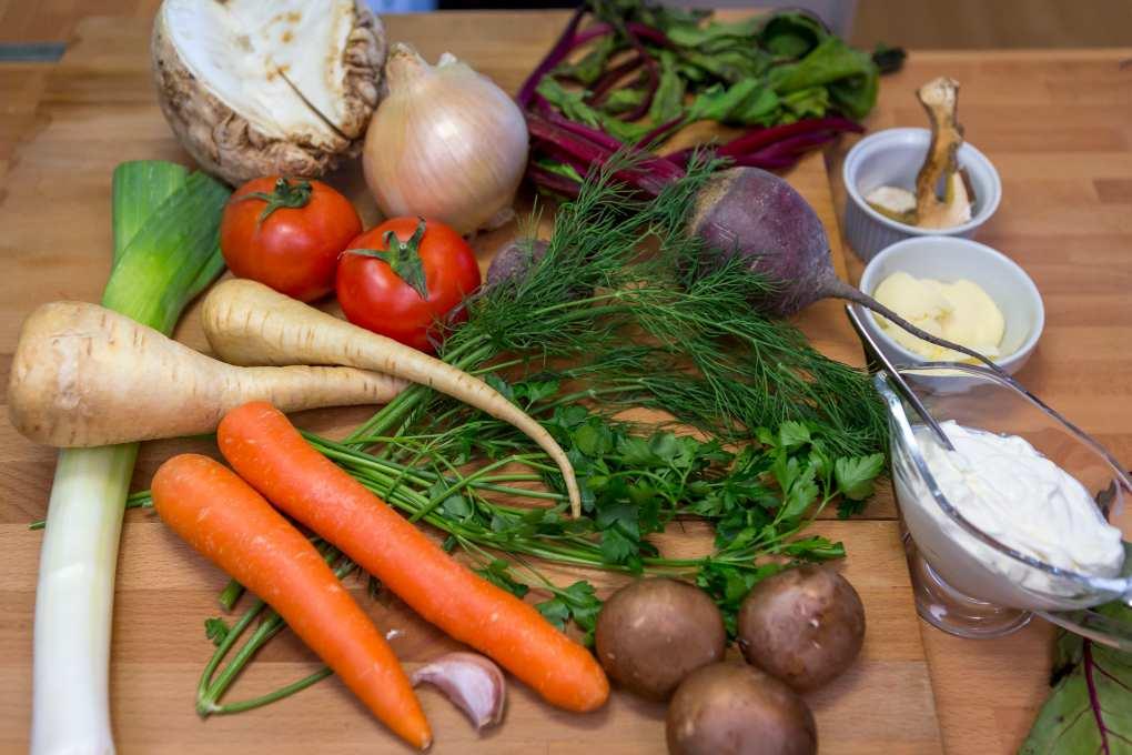Borschtsh, ingredientes