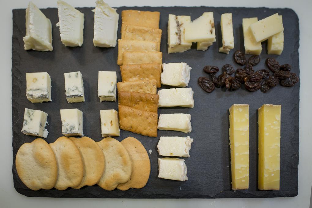 Tabla de queso lista para tomar