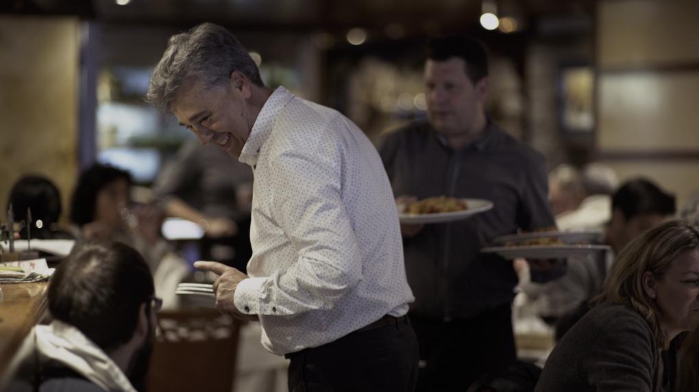 Juan, en el comedor de Balmes