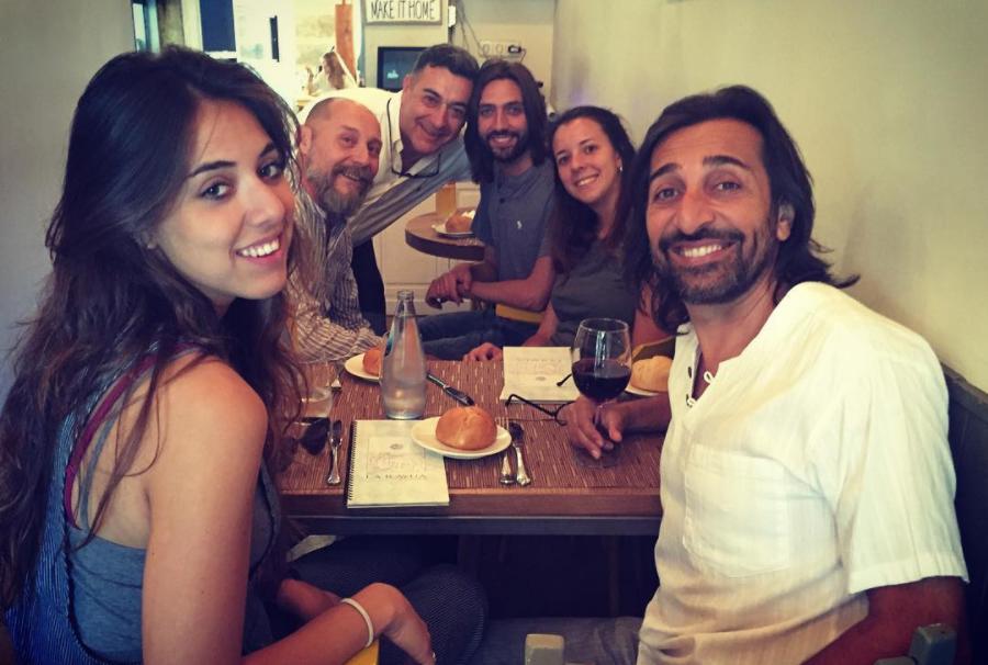 El cantante y su familia son habituales de La Rayúa (Madrid).