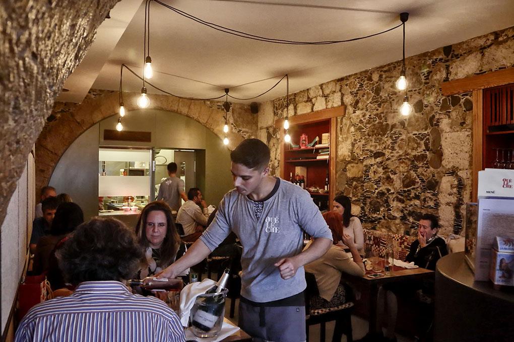 Restaurante Qué Leche (Las Palmas de GC) - sala. Foto: Roberto Ranero