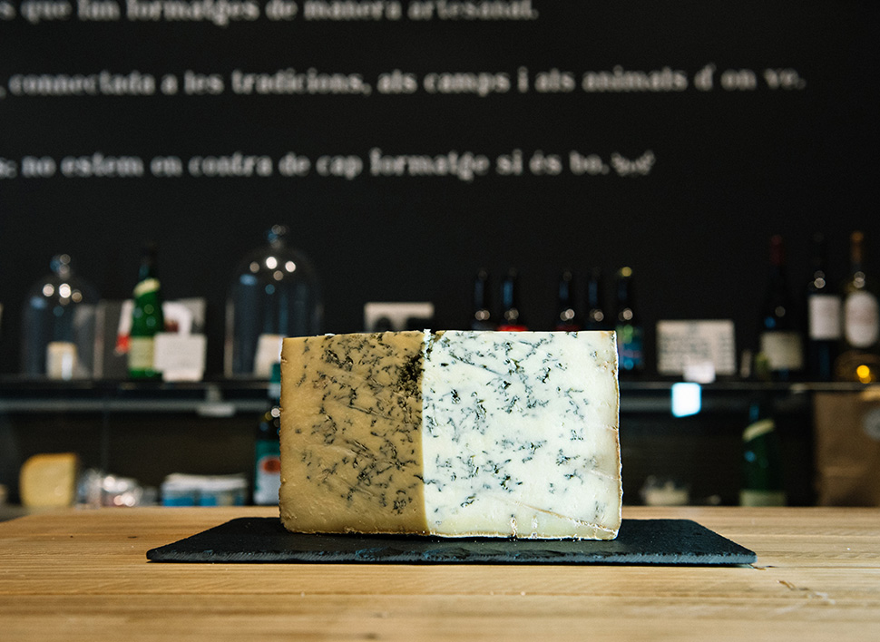 Uno de los quesos de Llet Crua