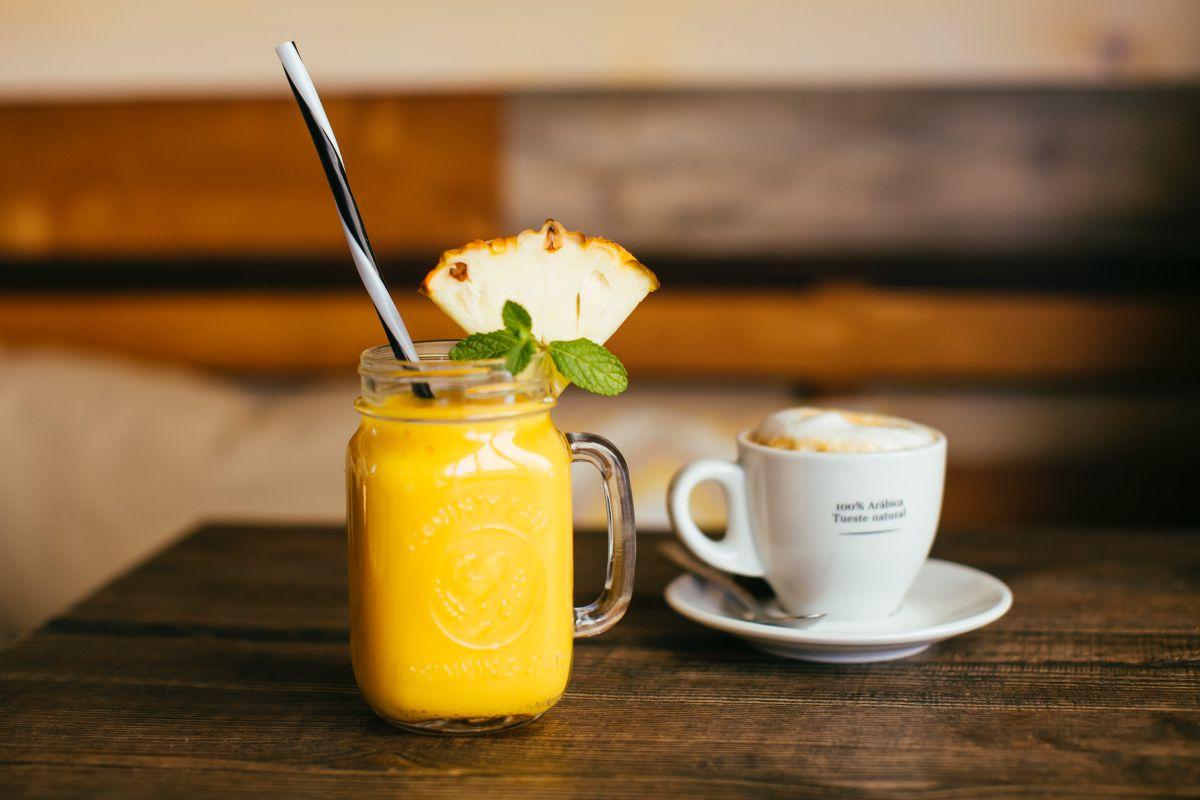 Un café con denominación o un zumo natural. Foto: Rocío Eslava