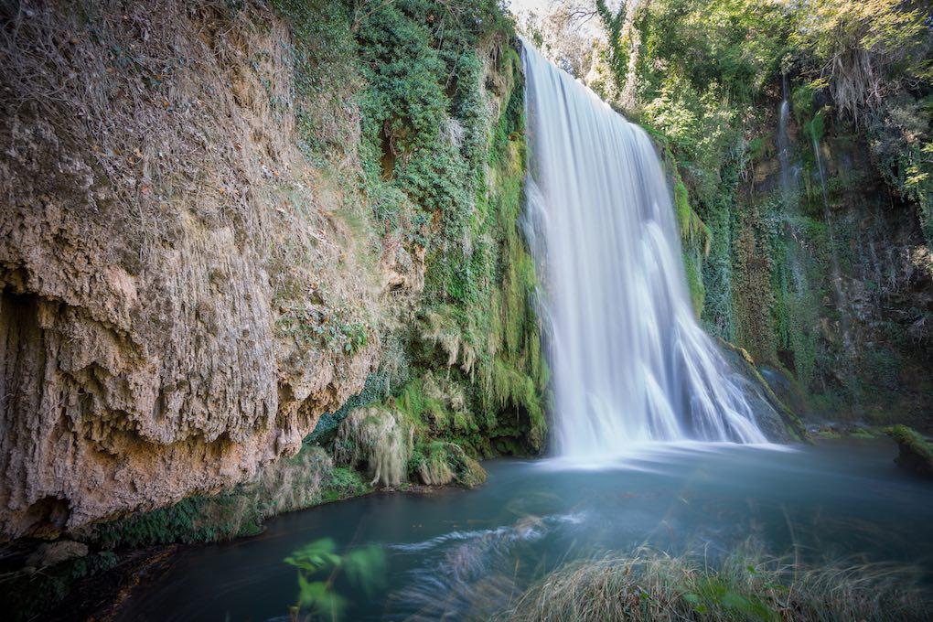 Cascada en el Monasterio de Piedra. Foto: Shutterstock