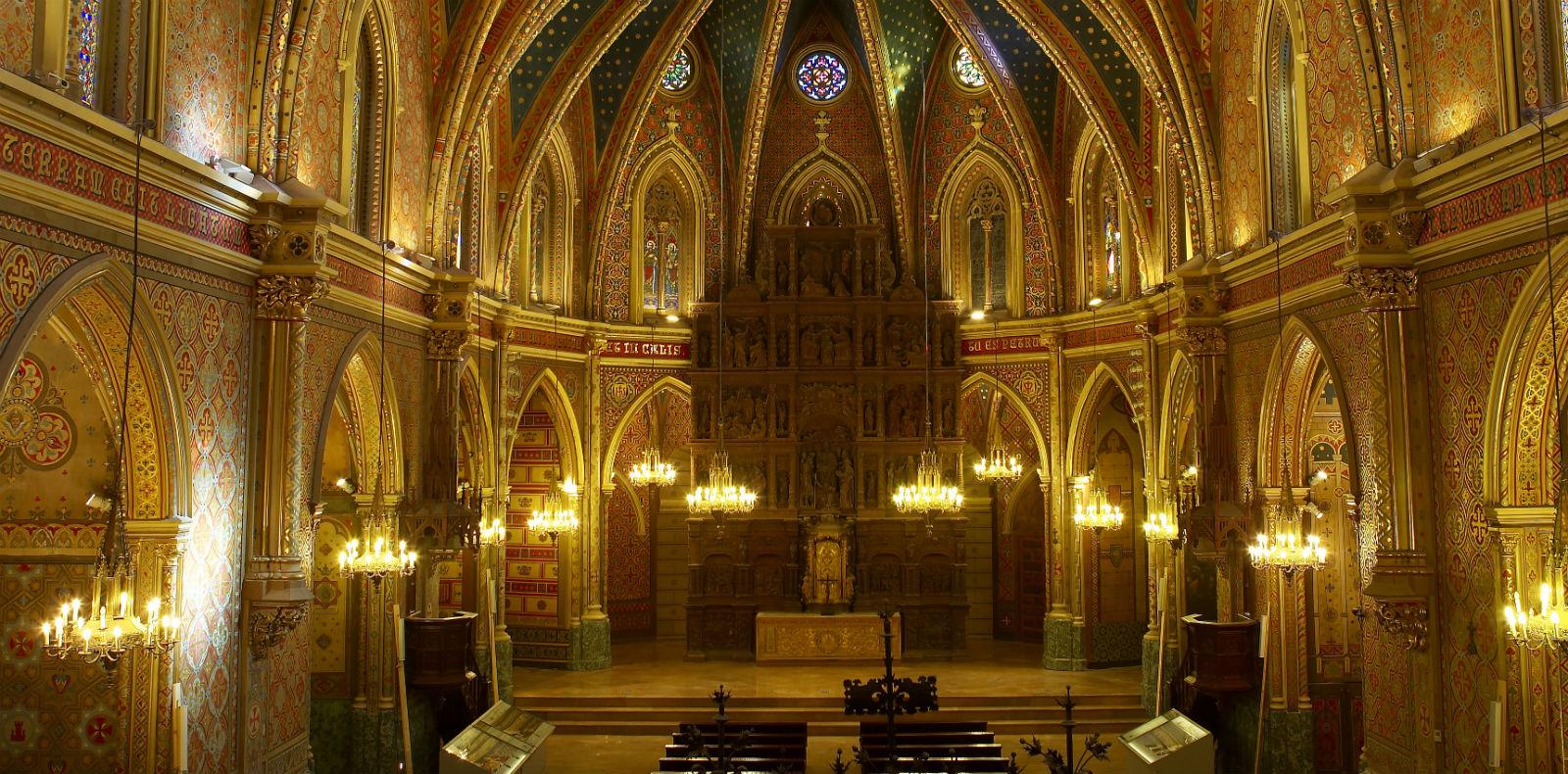 Interior de la iglesia de San Pedro, Teruel. / Cedida por: Fundación Amantes de Teruel