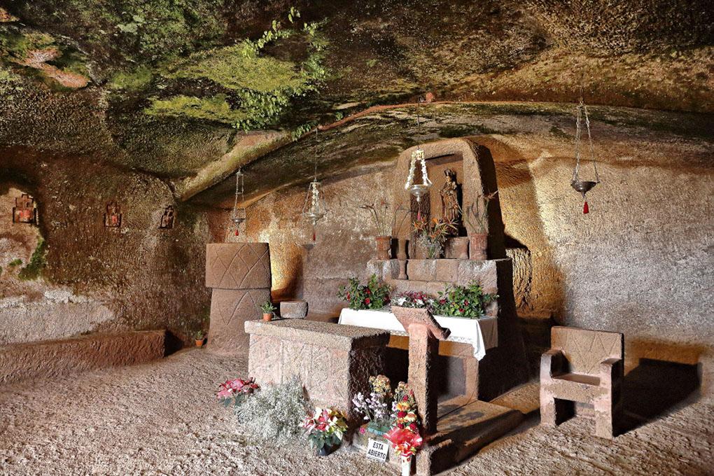 Artanara Casas Cuevas (capilla). Foto: Roberto Ranero