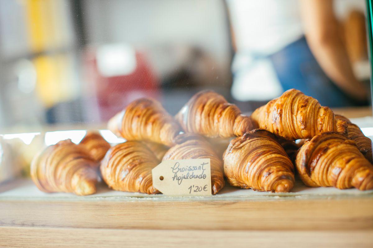 Croissants de 100% Pan y pastelería. Foto: Rocío Eslava