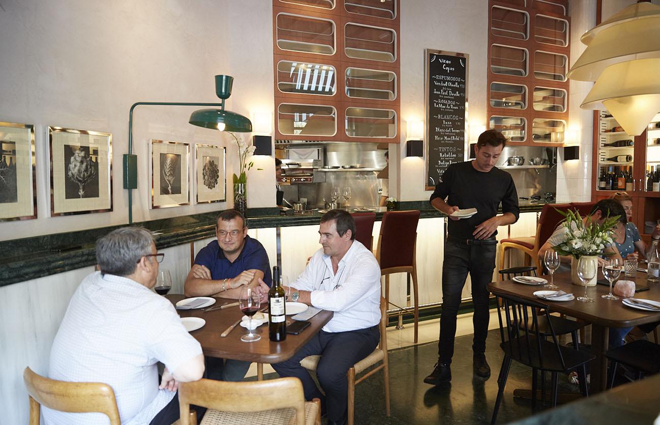 Restaurante Mediamanga (Barcelona) - comedor. Foto: Xavier Torres-Bacchetta