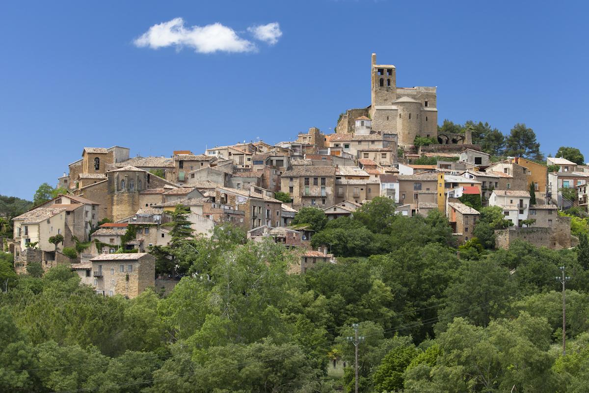 La villa de Àger, en Lleida. Foto: Shutterstock