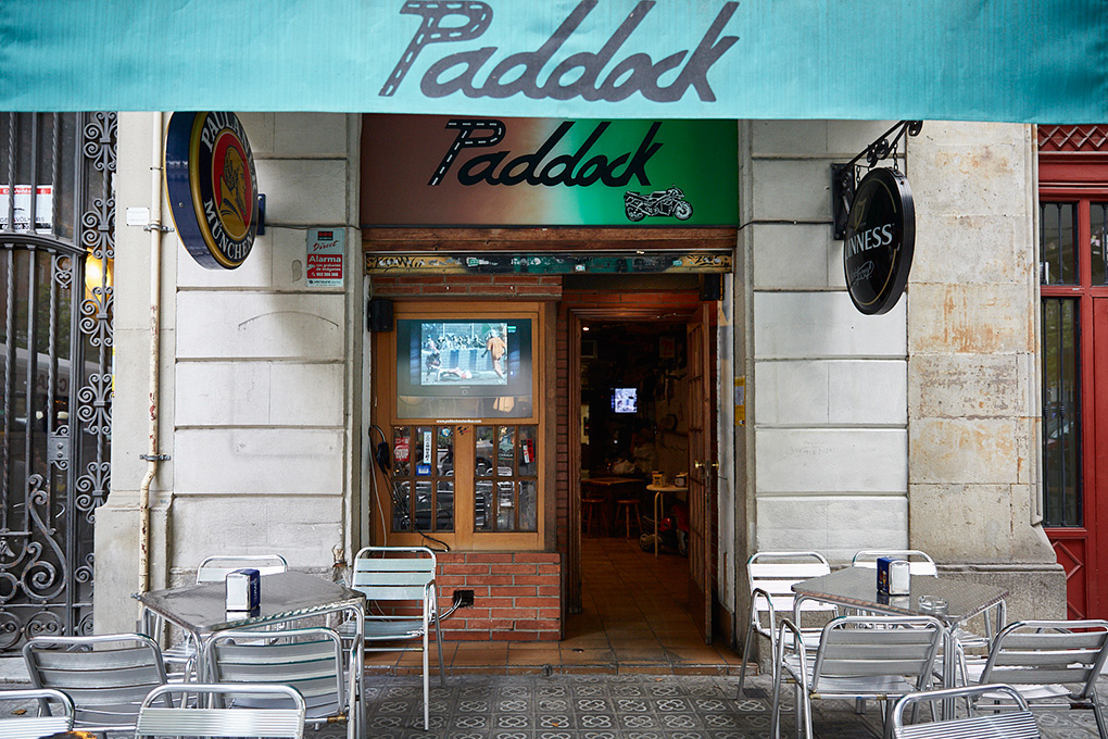 Paddock, Barcelona.