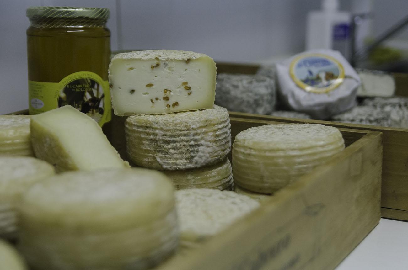 Tarifa: Quesos de la quesería 'El Cabrero de Bolonia'. Foto: Stefan Schmidt