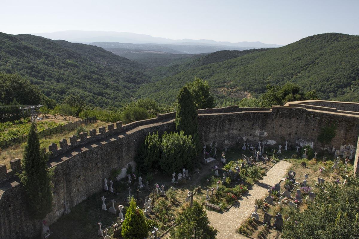 Cementerio del castillo de San Martín