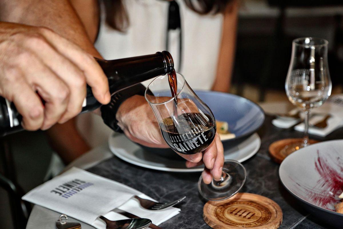 Gastrotendencias. Maridaje con cerveza en 'El Sainete'. Foto: Roberto Ranero